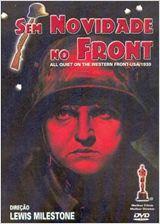 Filmes da Primeira Guerra - Sem novidade no front
