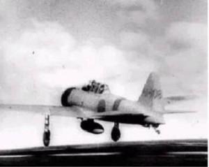 Aviões japoneses decolam para atacar Pearl Harbor