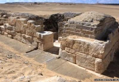Tumba egípcia de rainha1